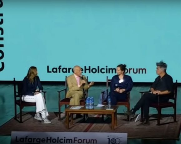 Norman Foster AUC Panel Discussion, Egypt, The 6th International LafargeHolcim Forum for Sustainable Construction.