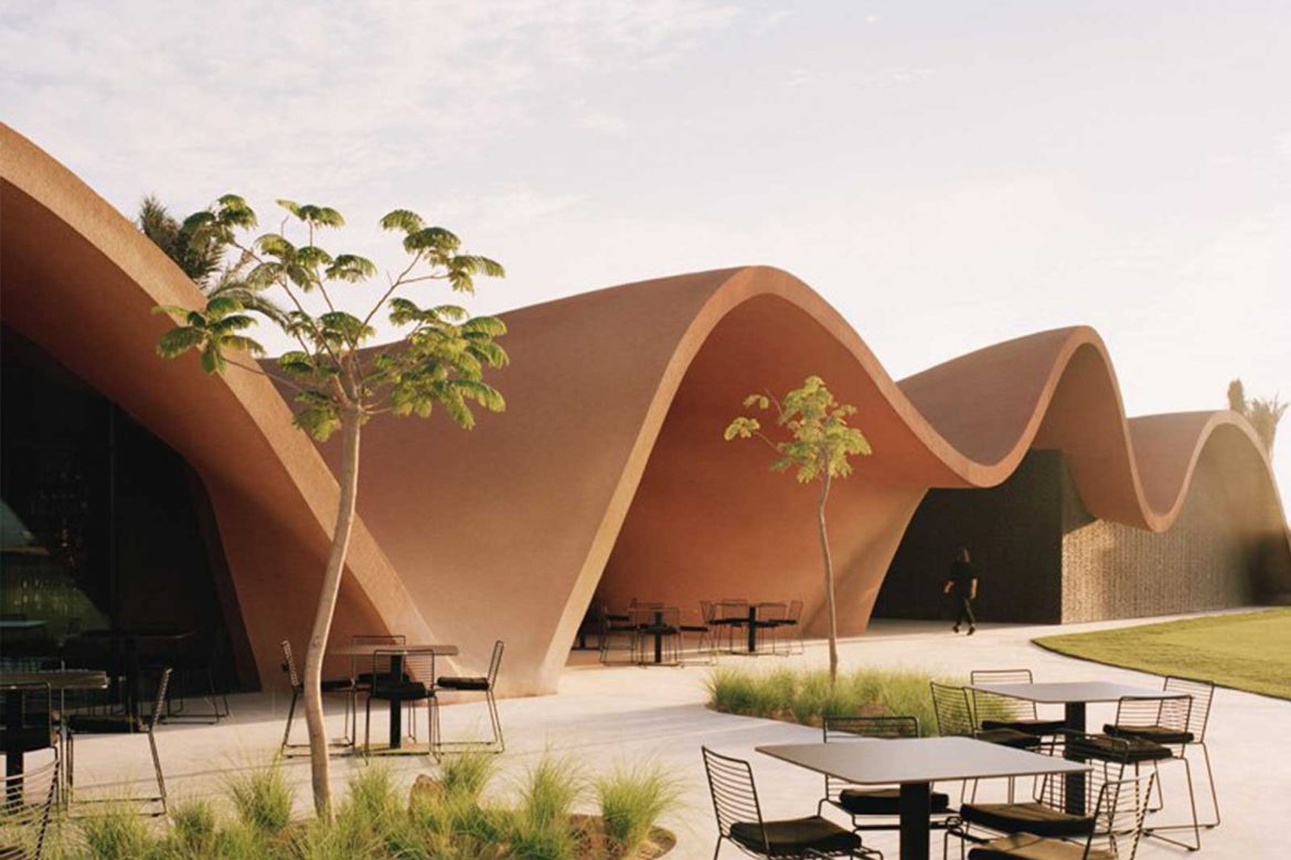 Clubhouse Architecture Exterior Design Oppenhiem Linesmag
