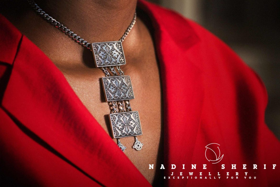 Nadine Sherif Jewellery Designer Necklace
