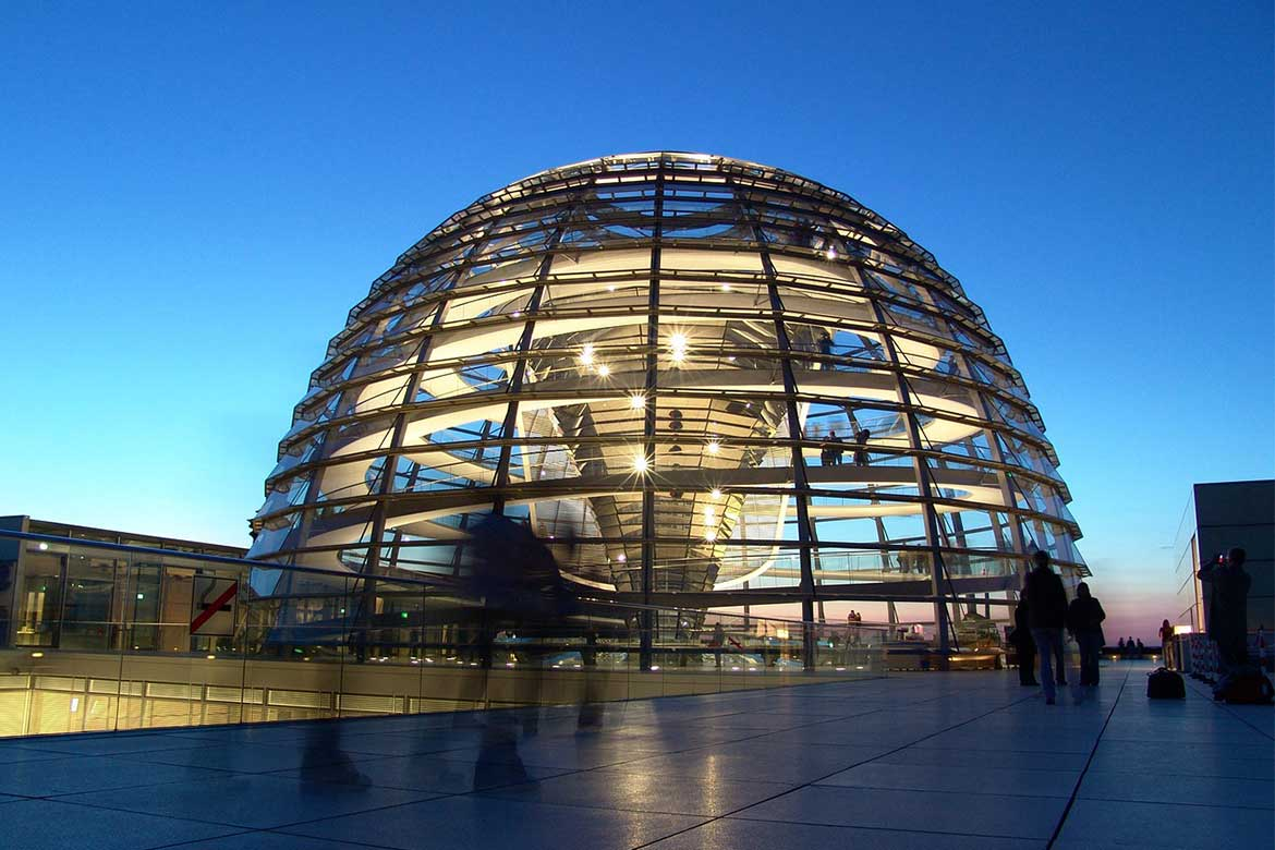 Dome of the German Reichstag Building