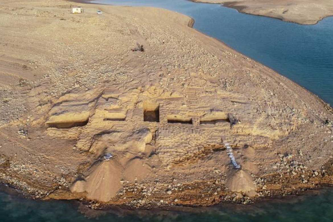 Kemune palace found after Iraq drought