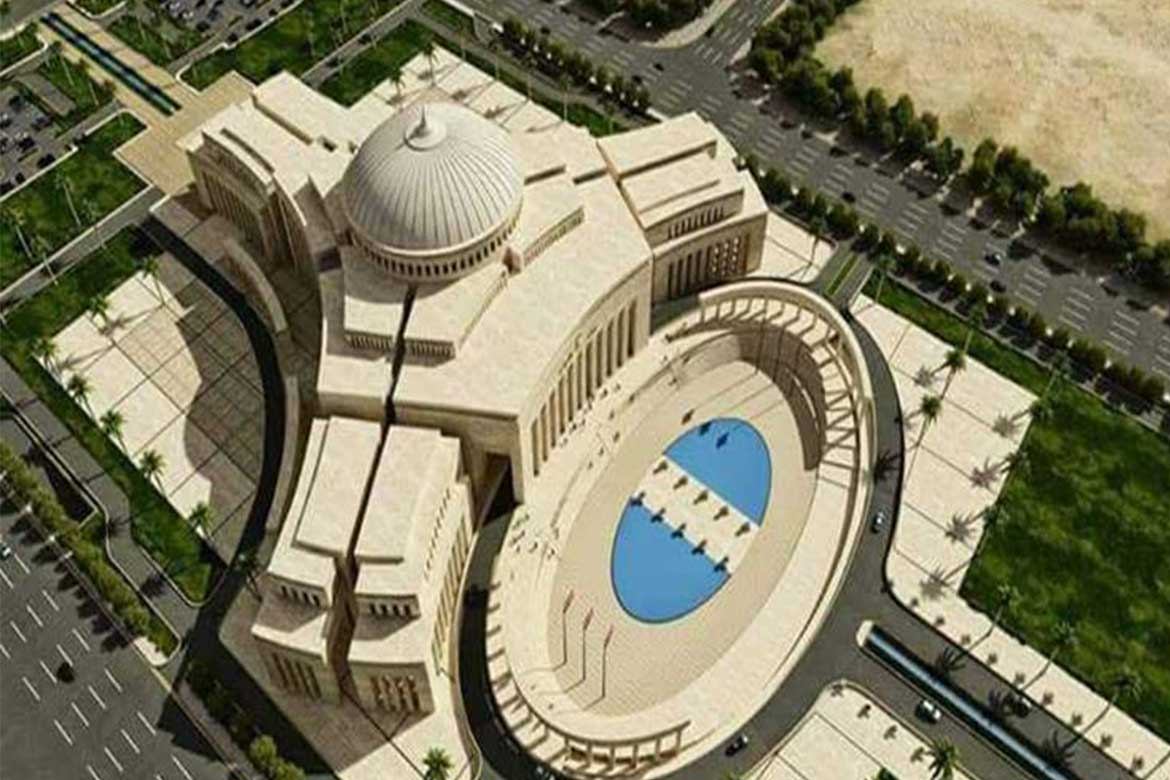 Overview of the new Parliament Building site-Photo courtesy: New Parliament building. Photo courtesy: masrawy.com
