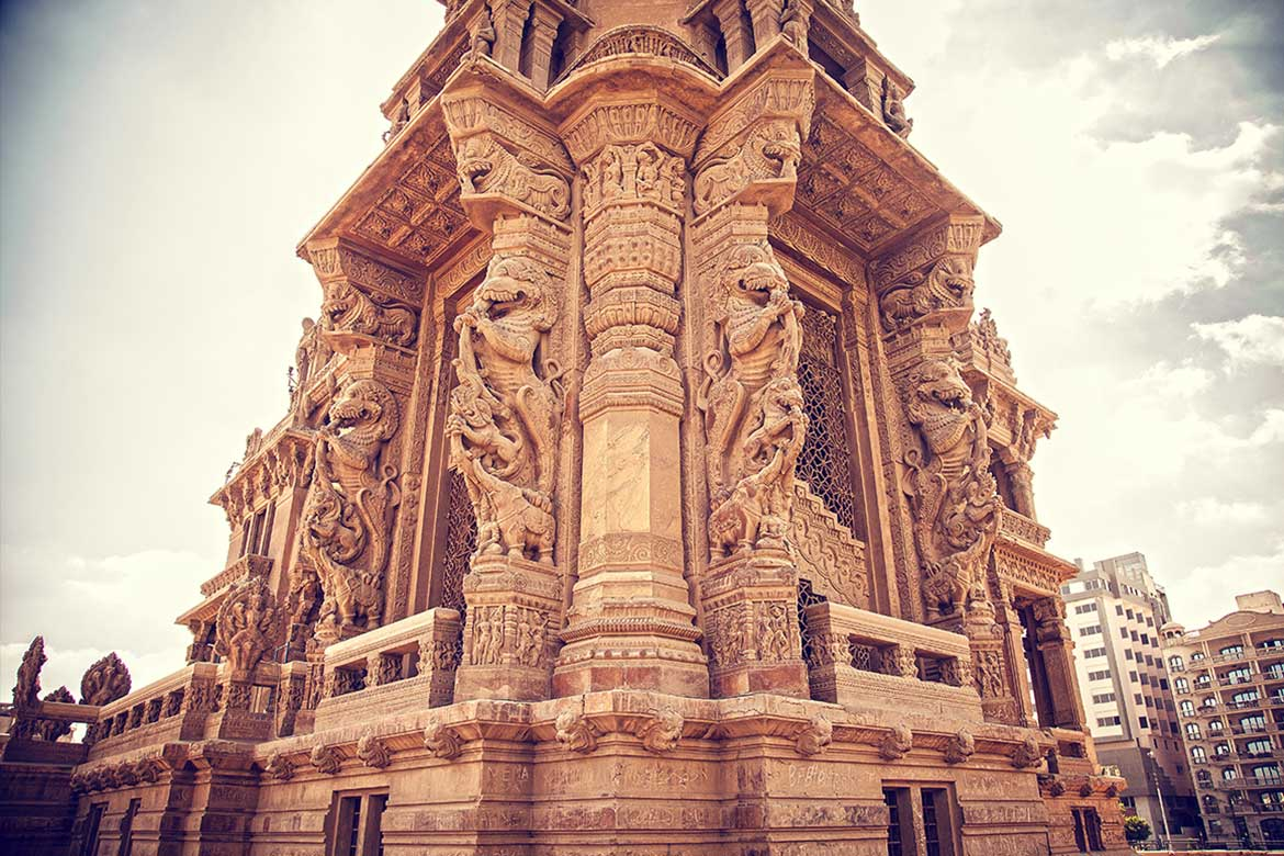Baron Palace colour before restoration