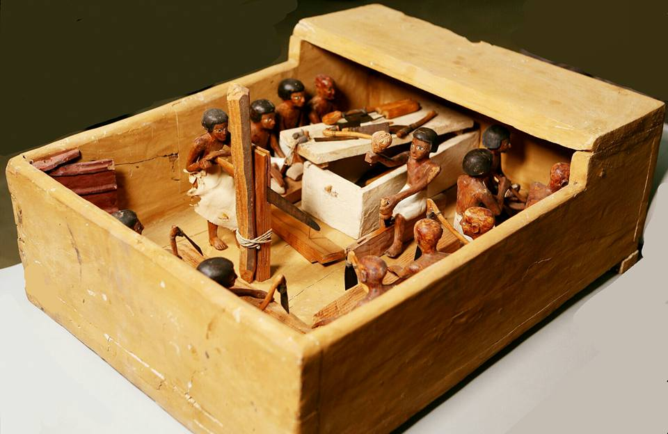 National_Museum_of_Egyptian_Civilization_Wooden_Model