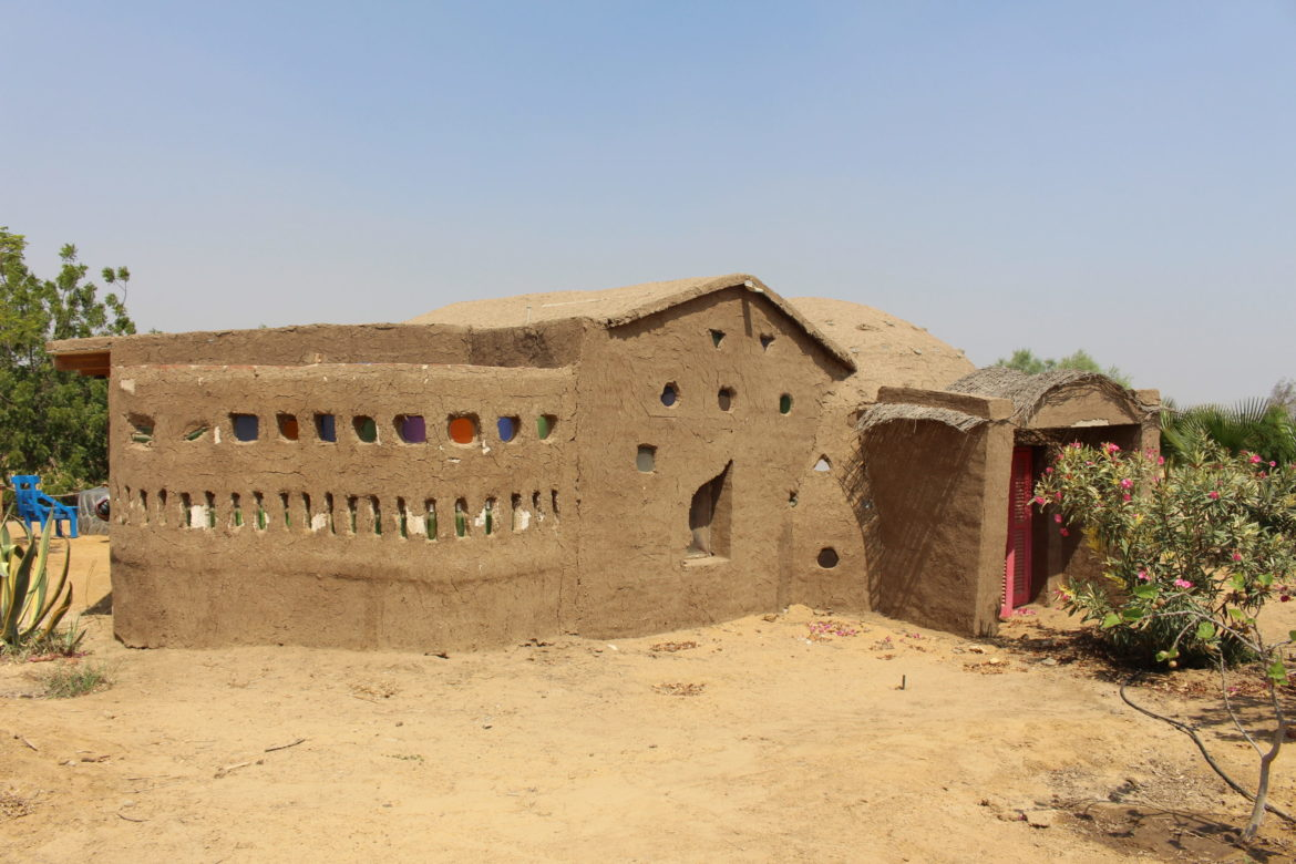 Guest house built out of mud