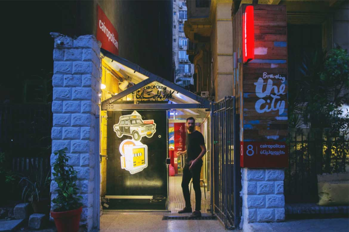 Ahmed Hefnawy, Opening night, June-2018 - Photo courtesy: Cairopolitan