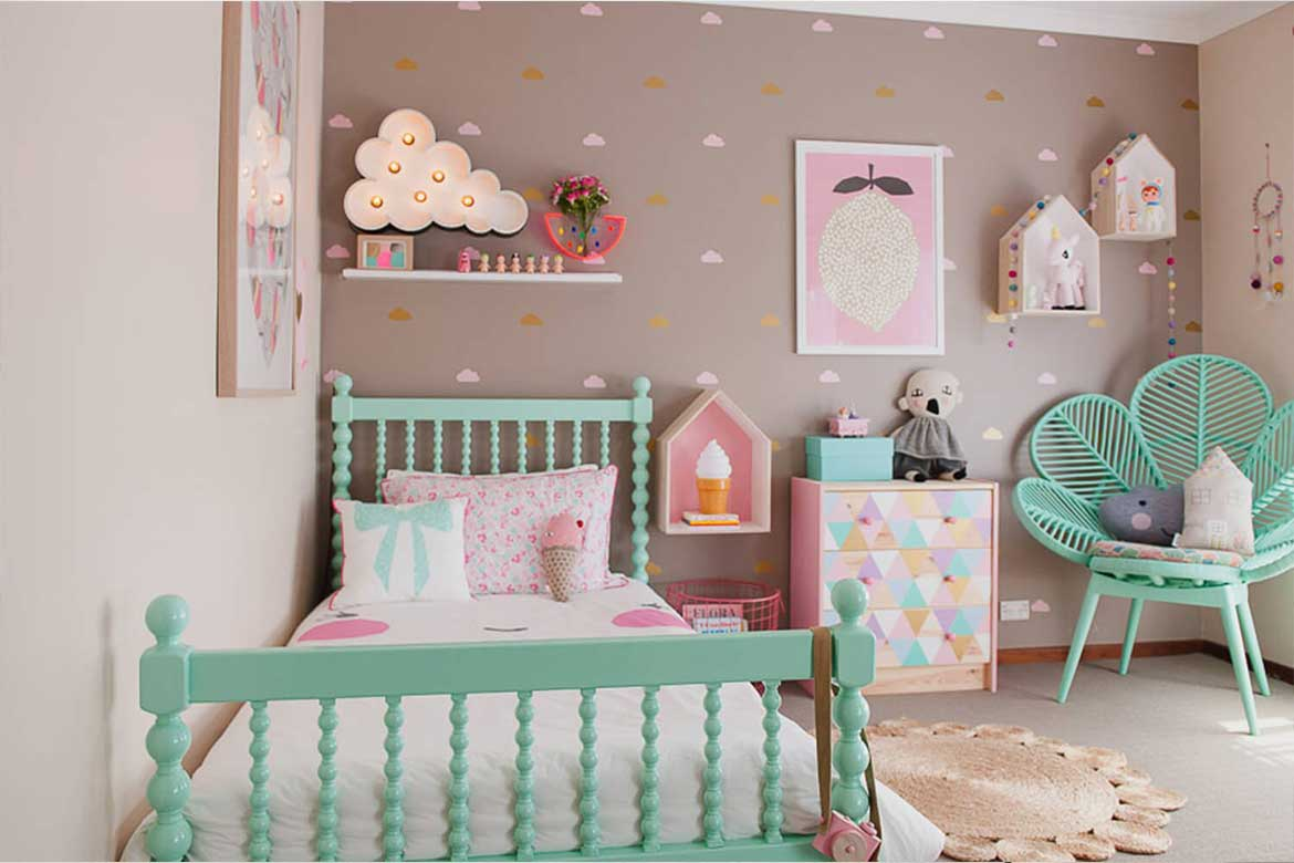 how to design kids fun room
