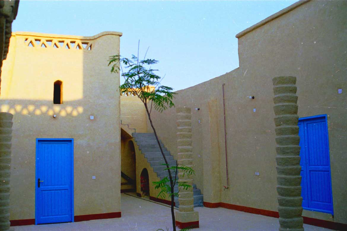 Inner courtyard in The Free Dome - Photo courtesy: Adel Fahmy