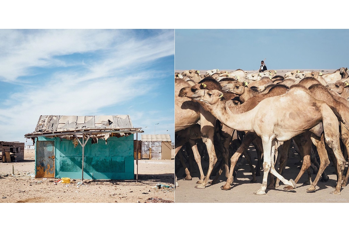 ELBA THE FORGOTTEN LAND EGYPT RED SEA TRIBES CAMELS METAL HOUSING LOCAL MATERIALS NOUR EL REFAI