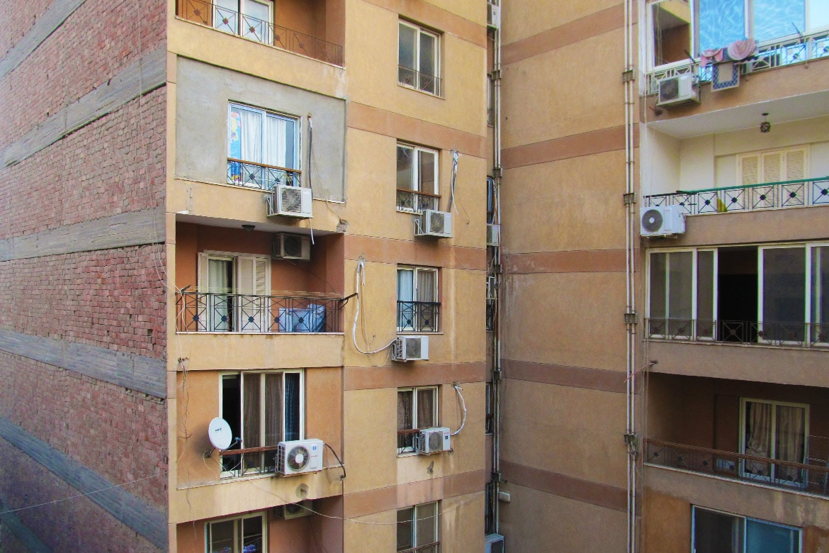 air conditioned buildings