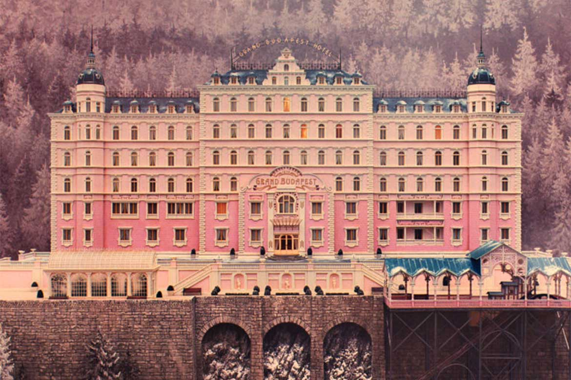 The Grand Budapest Hotel set design