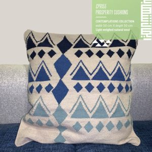Prosperity X Cushion by Iman Shihab Linesmag