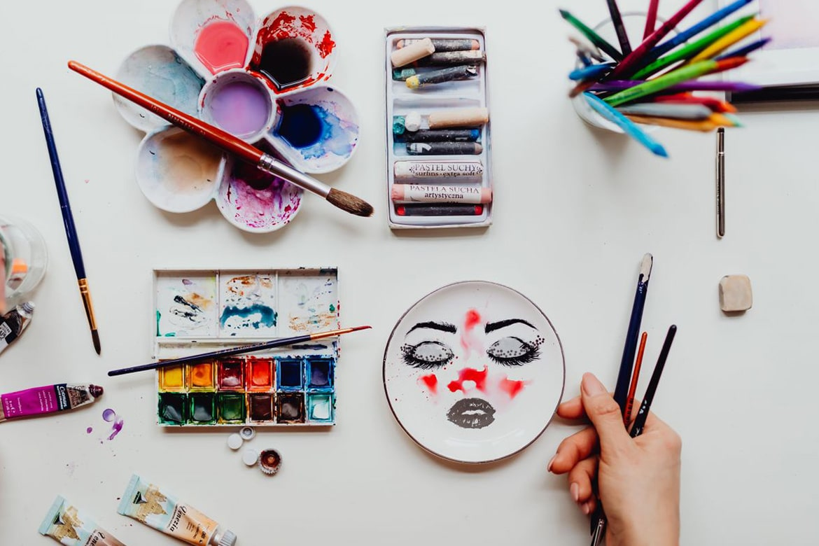 stay at home art hacks