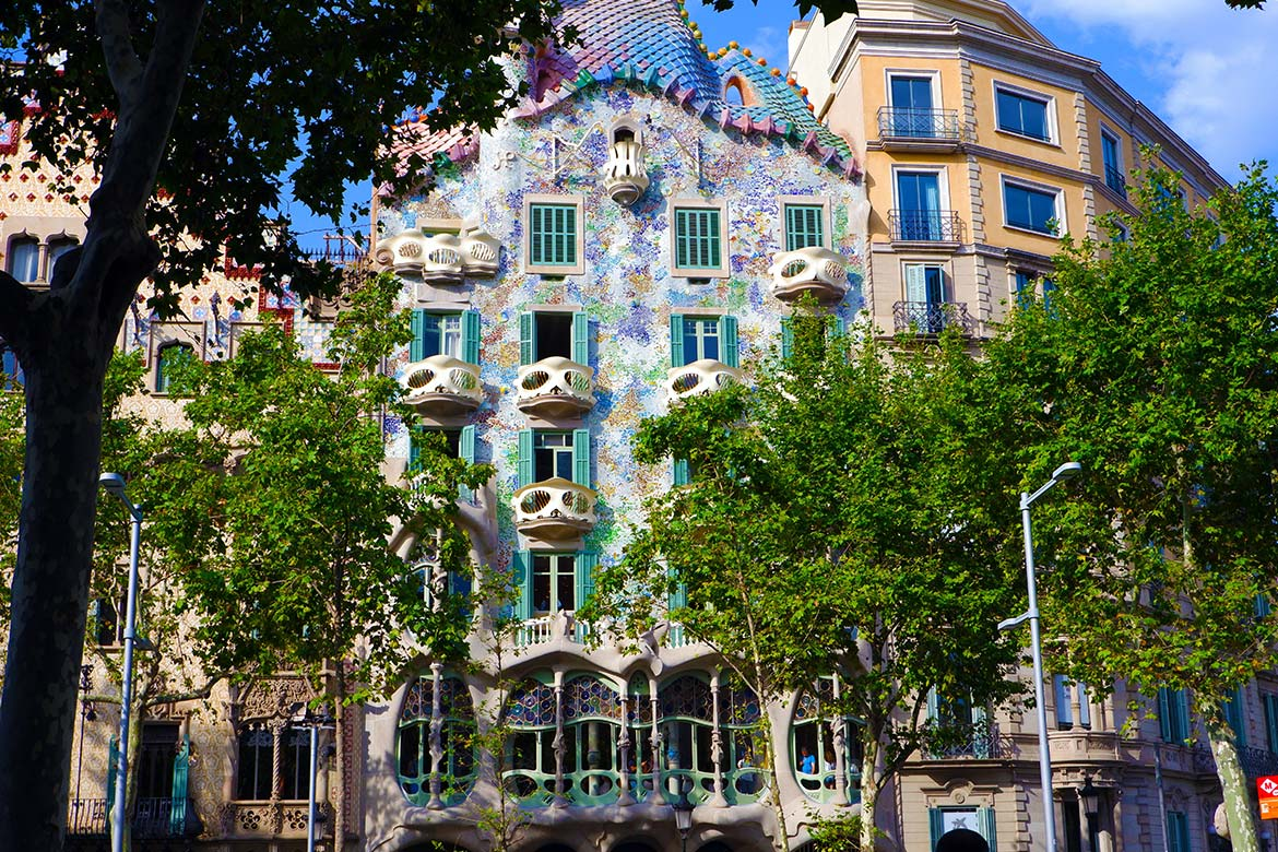 Barcelona City Architecture