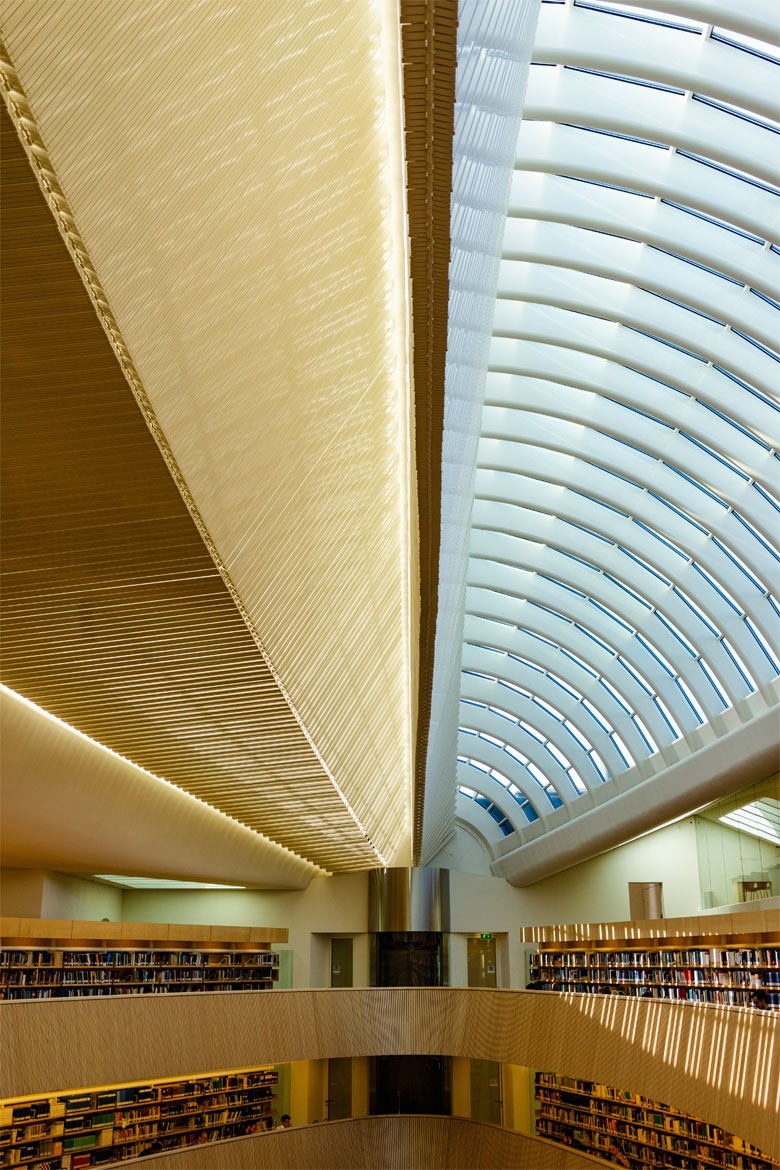 Law library in zurich architecture and interior design