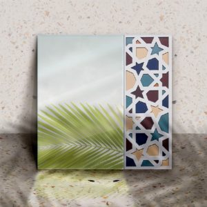 Geometrical Squared mirror designed by Nada Talaat Linesmag