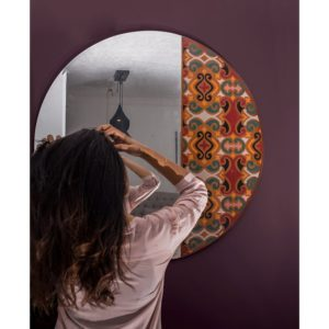Rosette-Mirror home accessories linesmag