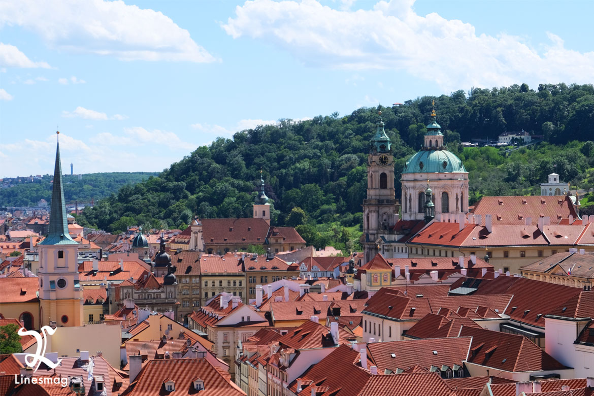 Prague Skyline Linesmag