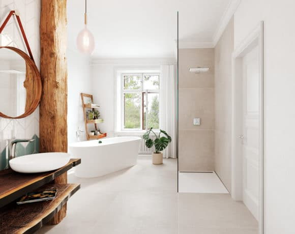 Bathroom interior design Linesmag