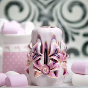 Marshmallow Candles by Bernini