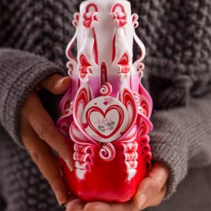 Love u more Candle - Valentine gifts