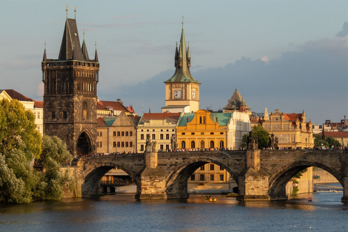 Charles Bridge Prague Linesmag