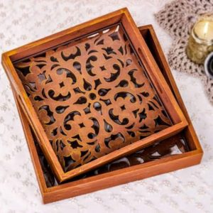 Wooden tray - Home accessories