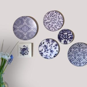 Wall Plates Blue Heaven Tableware home accessories Linesmag