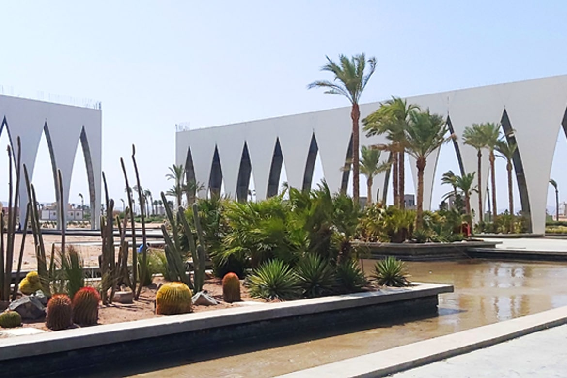 El Gouna Conference and Culture center Linesmag