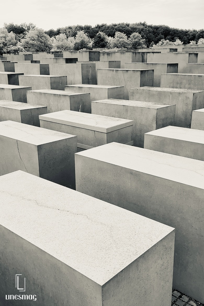The Memorial to the murdered Jews in Europe Linesmag
