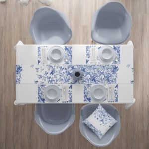 Blue Jay Dinning Runner - home textiles - home accessories - online shopping - Egypt - linesmag Store