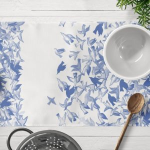 Blue Jay table mat - home textiles - home accessories - online shopping - Egypt - linesmag Store