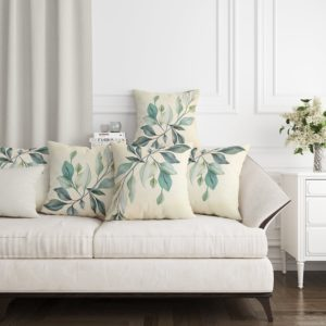 Ivy Green Cushion by LF Home - Home textiles - home accessories - Online shopping - egypt - Linesmag Store