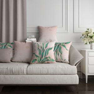Trending Tropical Cushion - Home Textiles - Home Accessories - Home Decor - Designer Product - Online Shopping - Egypt - Linesmag Store