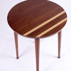 Striped Side Table - Home Furniture - Tables - Designers - Online Shopping - Egypt - Linesmag Store