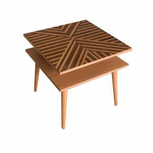 Geo Square Side Table - room no 9 - shop tables online - home furniture - Online Shopping - Egypt - Linesmag Store