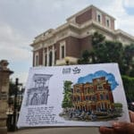 Aisha Fahmy Palace sketch by michael safwat